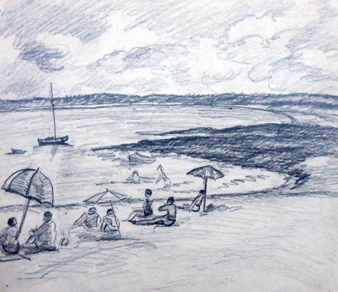 Obra ampliada: Playa Mansa - Petrona Viera