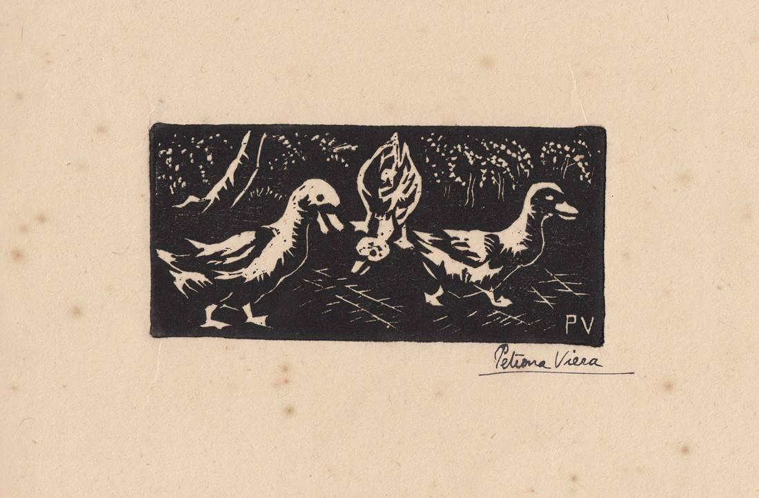Obra ampliada: Tres patos - Petrona Viera