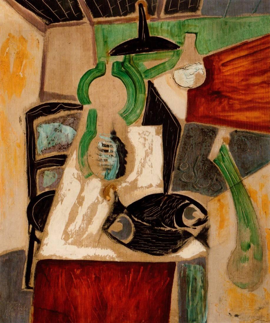 Obra ampliada: Escena interior - Julio Verdié