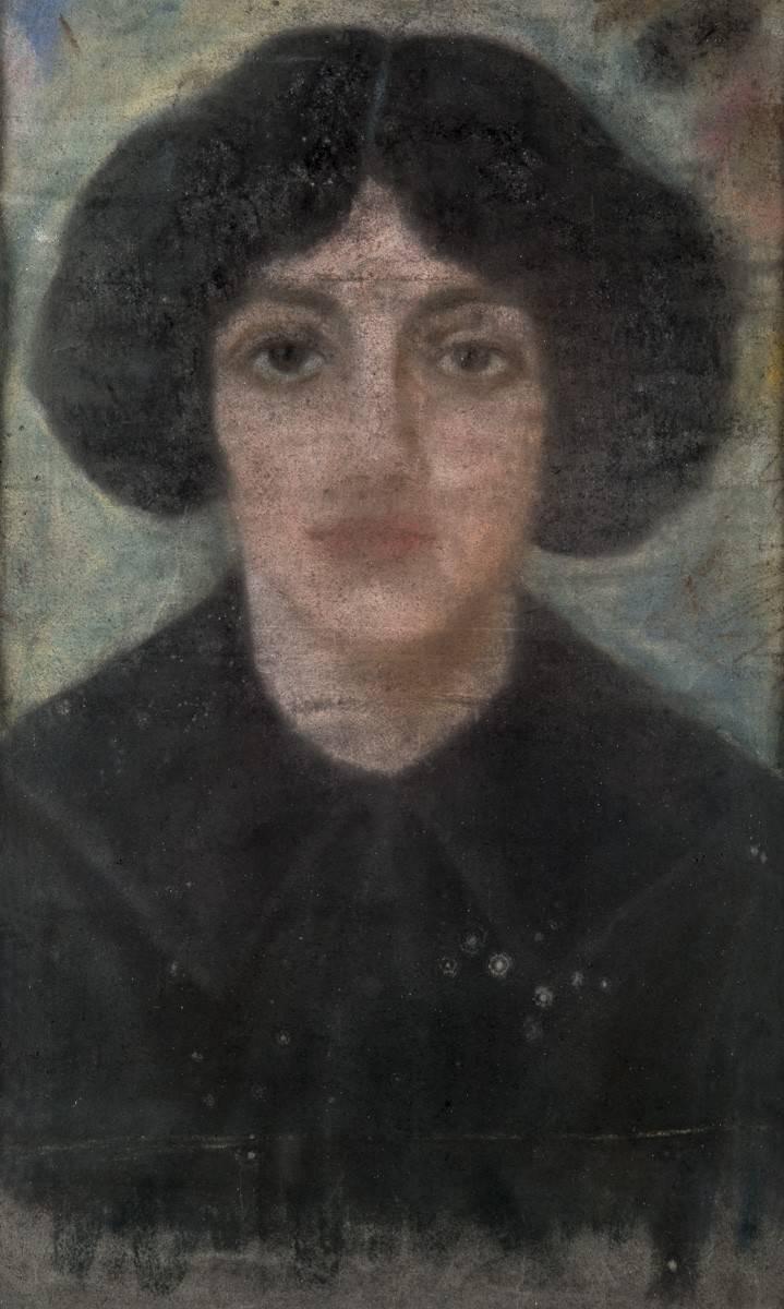 Obra ampliada: Retrato de señora - Petrona Viera