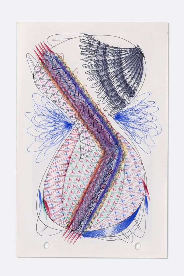 Obra ampliada: Boligrafía - 1407 - - Manuel Espínola Gómez