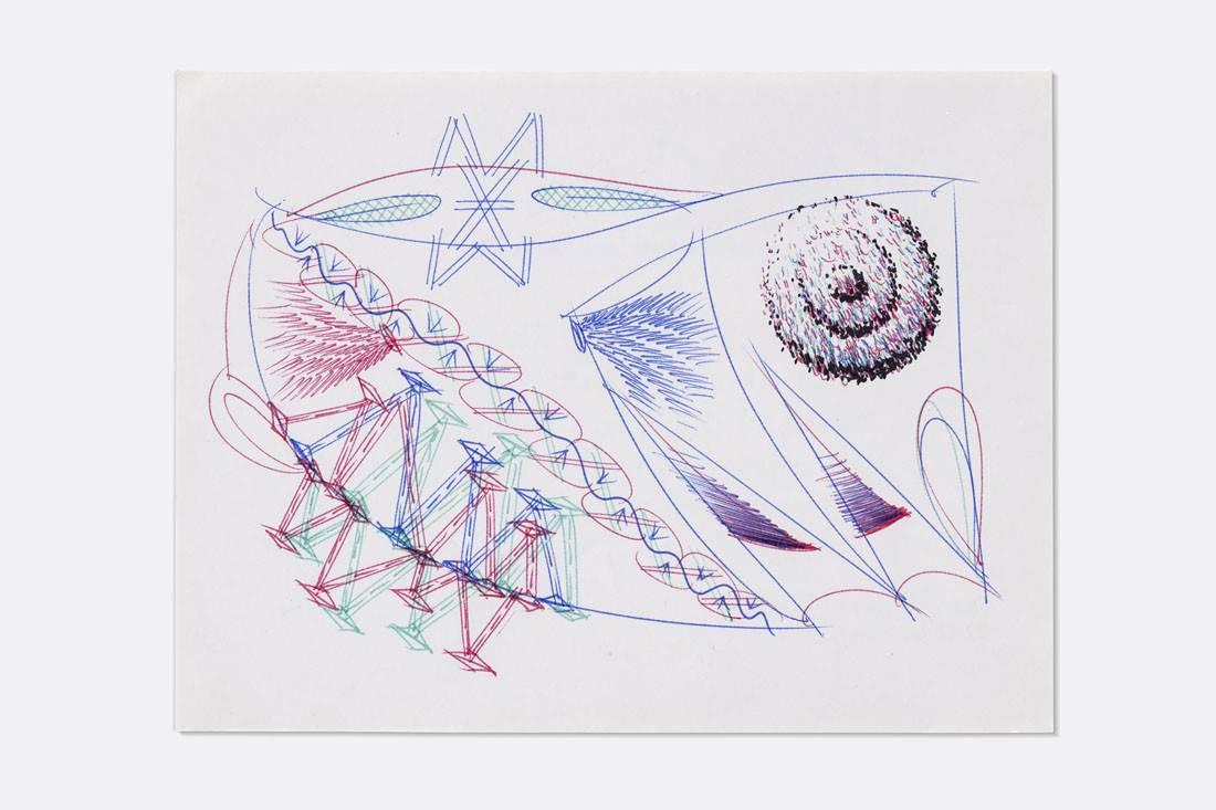 Obra ampliada: Boligrafía - 0329 - - Manuel Espínola Gómez