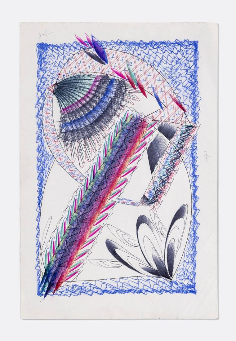 Obra ampliada: Boligrafía - 0350 - - Manuel Espínola Gómez