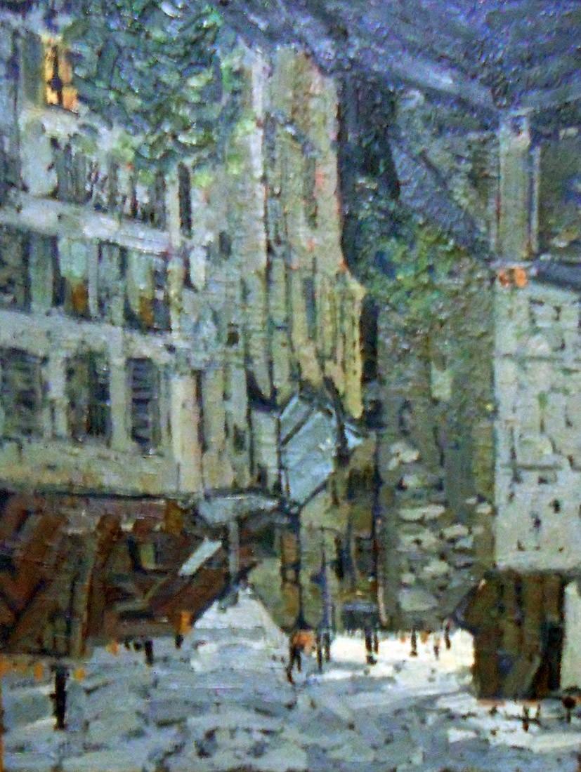 Obra ampliada: Viejas casas - Jacques Martin Ferrières