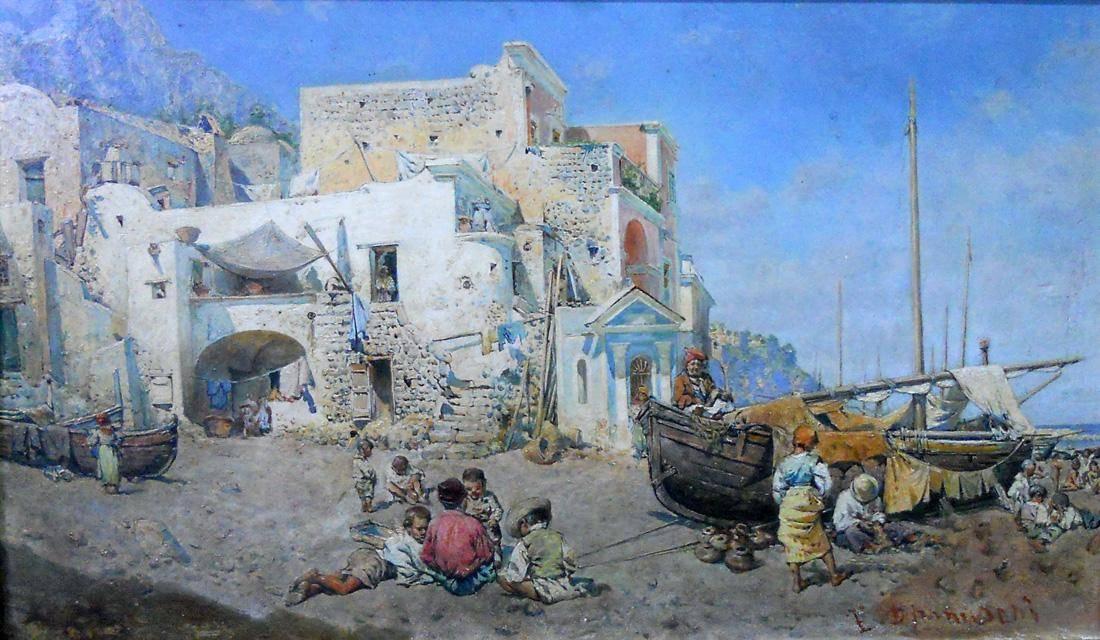Obra ampliada: Aldea marítima - N. Depanuschi