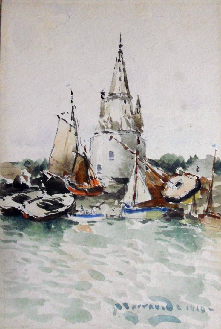 Obra ampliada: La Rochelle - Manuel Larravide