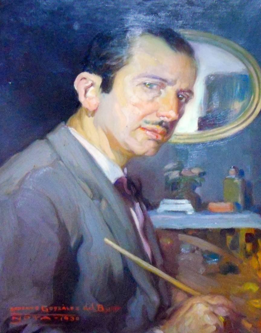 Obra ampliada: Autorretrato - Roberto González del Blanco