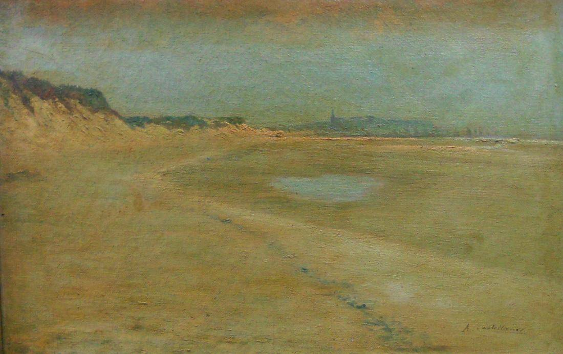 Obra ampliada: Playa de Kmocke - Alberto Castellanos