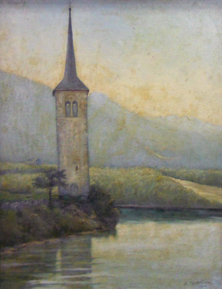 Obra ampliada: Torre del siglo XIII - Alberto Castellanos