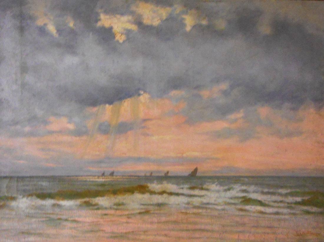Obra ampliada: Mar picada - Alberto Castellanos