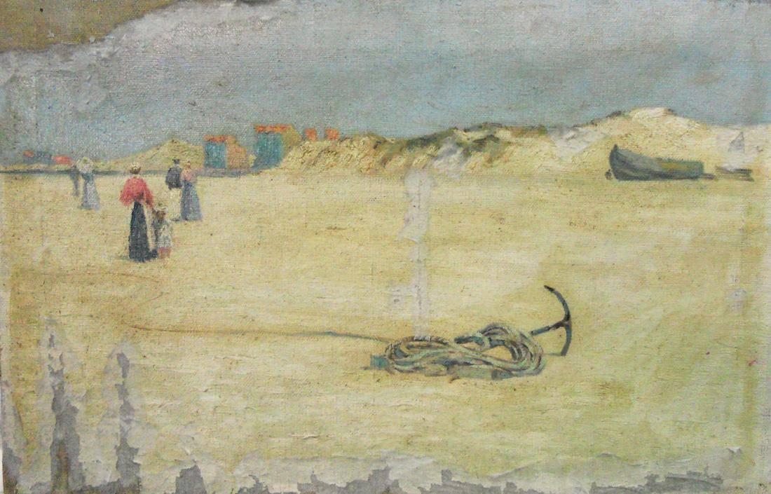 Obra ampliada: Playa de Heyst - Alberto Castellanos