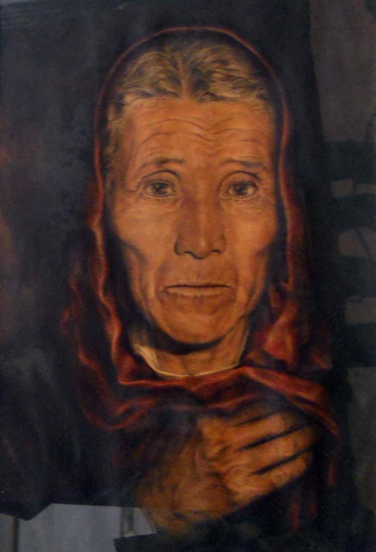 Obra ampliada: Mujer del pueblo - José Enrique Bravo